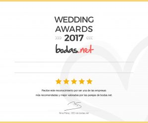 ¡¡¡DiscoLevent ganadora de los Wedding Awards 2017!!!